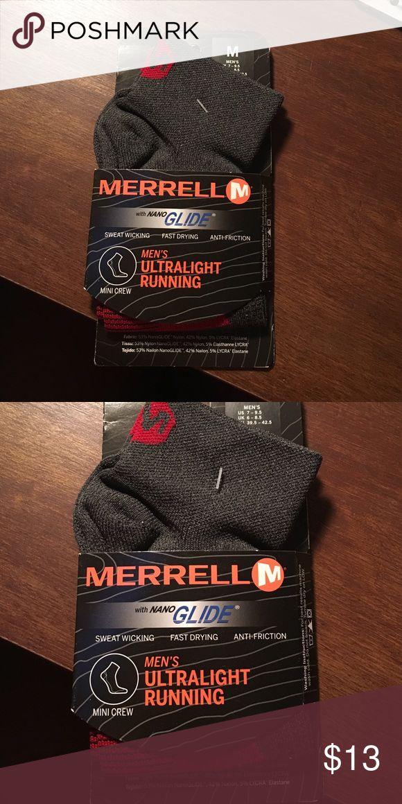 Merrell running socks Ultra light, sweat wicking, anti-friction running socks Merrell Underwear & Socks Athletic Socks