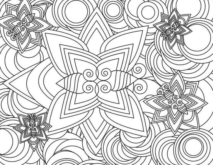 good free coloring pages for adults with free detailed coloring pages