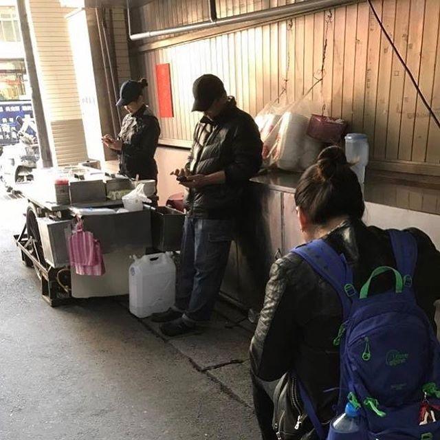 #台北市民生西路178巷豆花攤  #この味が忘れられない  #また行きますね   #親子かな?