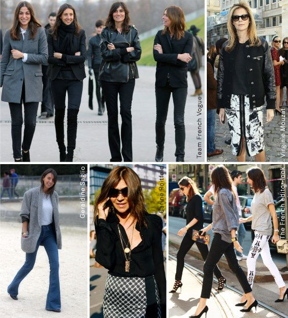 H&M Life October | TREND REPORT   The only people better dressed than the models in French fashion magazines are the magazines' editors. And, this season, the cool but laidback 'French editor' look is hotter than ever. Read on to learn the secrets to their je ne sais quoi.