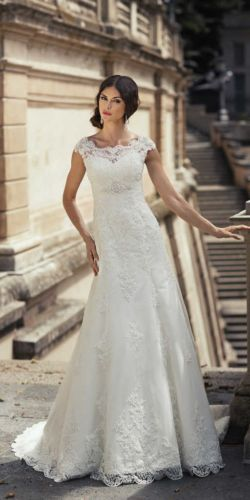 463 - Annais Bridal Danielle, 177cm, r36-38, 1650zł, krem