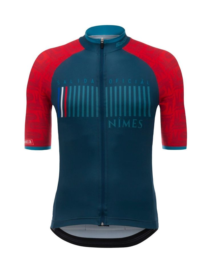 2017 La Vuelta a Espana Nimes Cycling Jersey: Made in Italy by Santini