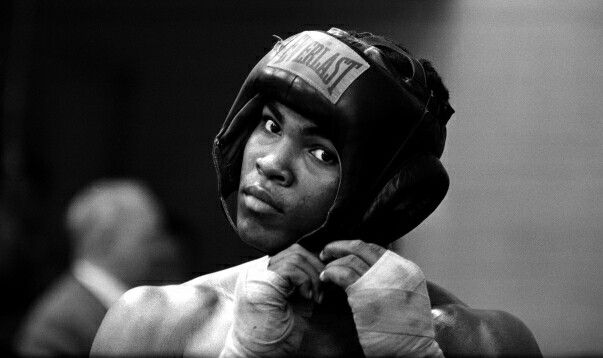 Nothing captures the subject matter like a b/w photograph does. #muhammadali