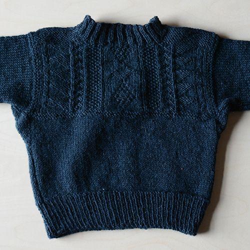 [Envelope Online Shop] Guernsey sweater KIT MOORIT Kits