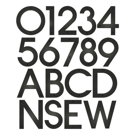 contempo house number typography numbers c pinterest