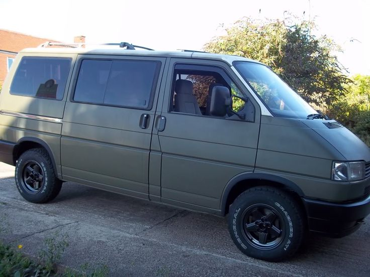 205/75/15 all terrains General Grabber Biggest tyres (not wheels!!) on a T4?? Pics pleas.... - Page 2 - VW T4 Forum - VW T5 Forum