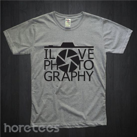 i love photography defragma dari tees.co.id oleh Hore Tees