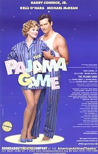 The Pajama Game - Wikipedia, the free encyclopedia  2004 revival with Harry Conick Jr