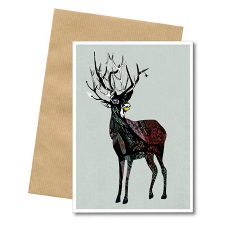 Bob Noon Postkort Rensdyr