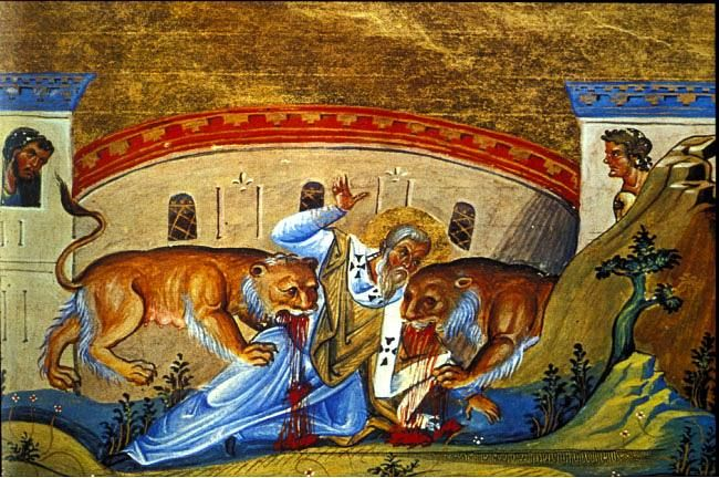 """This was the second talk I gave at the Amarillo Catholic Men's Conference in October of 2013. The first talk I gave recounted how God saved me from a lifetime of pornography addiction through the Catholic Church.  In this talk we look to the heroic example of St. Ignatius of Antioch, the first century Bishop who """"took the hill"""" for Christ and His Church!"""