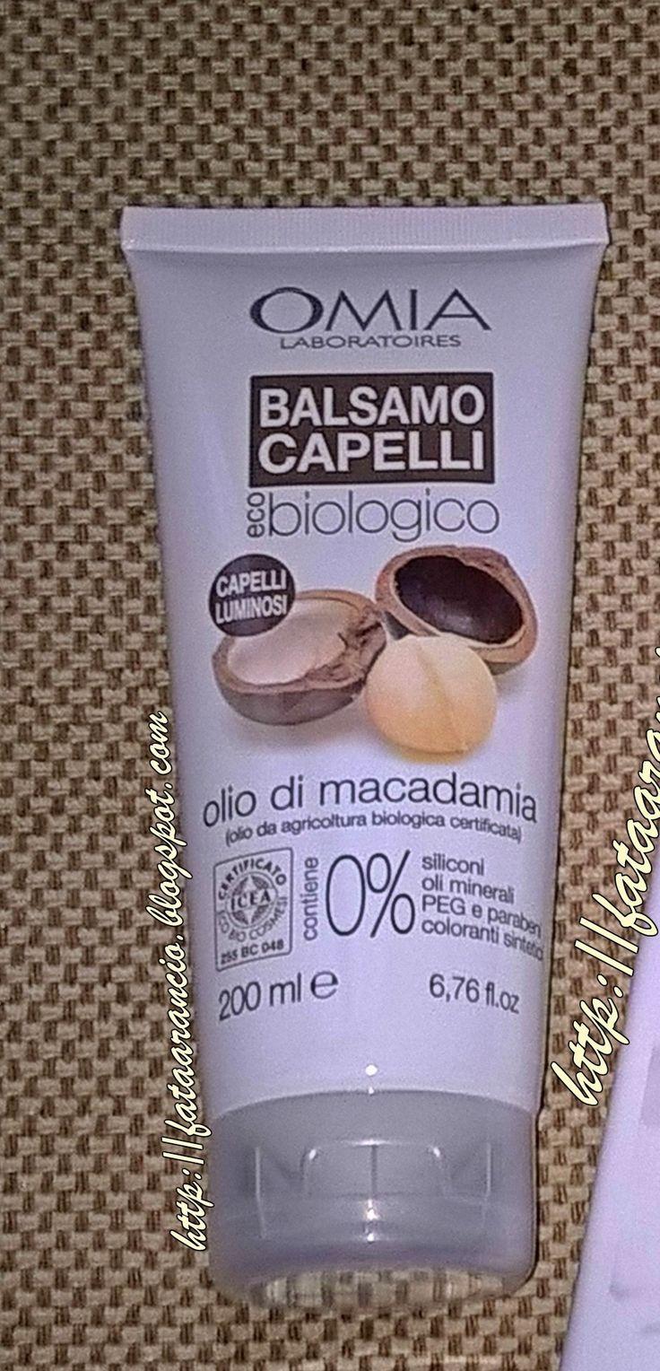 Omia Laboratoires-Balsamo Capelli Biologico all'Olio di Macadamia #omialaboratoires #haircare