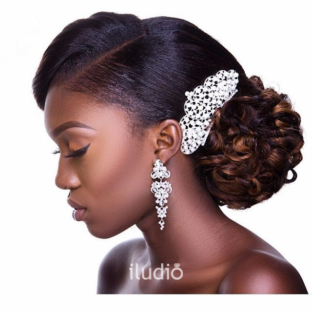 Best 11 African Bridal Hairstyles images on Pinterest | Bridal ...