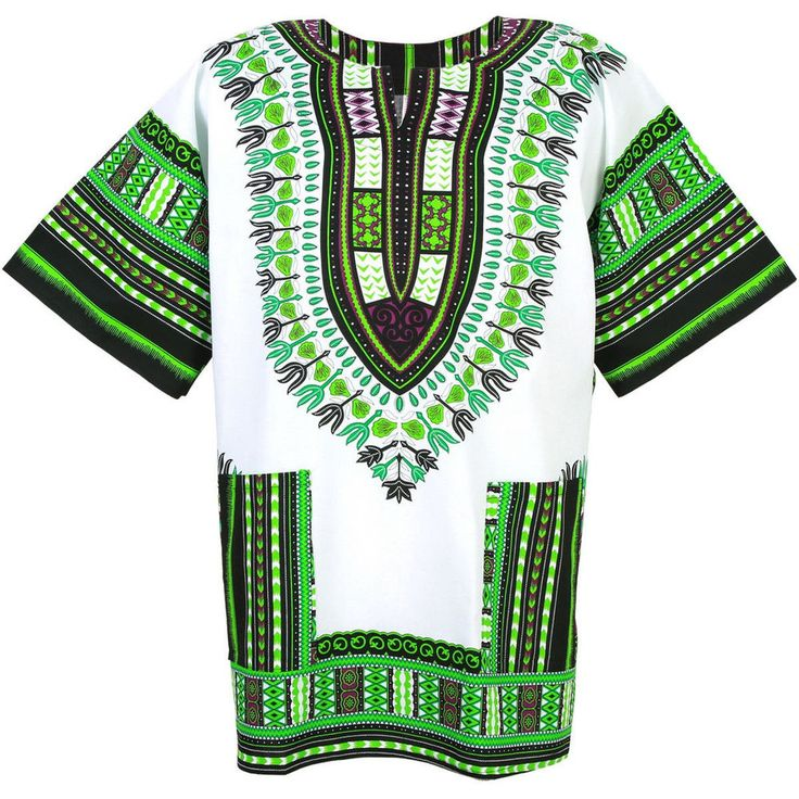 Men's Dashiki Shirts African Fashion Tops Vintage Hippy Women's Blouse Free Size #Handmade #Dashiki #Casual