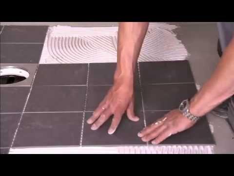 Fliselegging av badet - video fra Weber