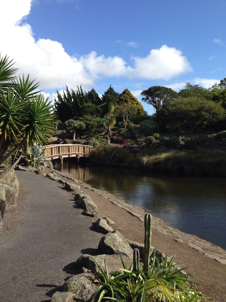 The Auckland Botanic Gardens