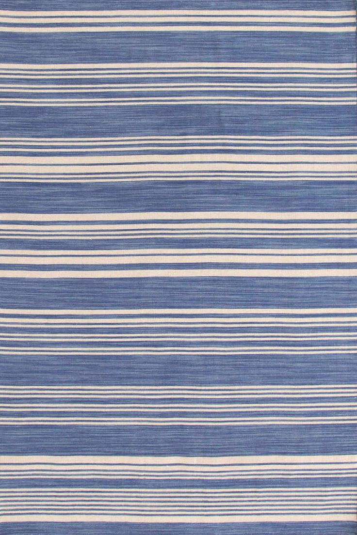 best rugs for home images on pinterest  dash and albert area  - dashandalbert cottage stripe french blue wool woven rug get sassy withour latest