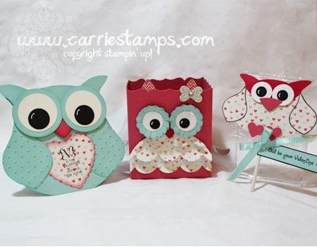 Hearts a Flutter Owls