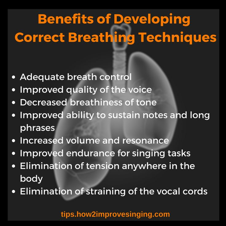 Click here to learn about benefits of efficient breathing technique: http://tips.how2improvesinging.com/breathing-for-singing/