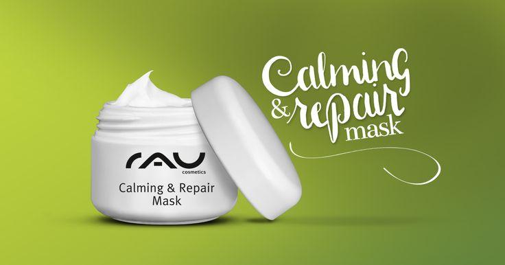 rau calming repair mask 5 ml beruhigende maske f r trockene und empflindliche haut. Black Bedroom Furniture Sets. Home Design Ideas