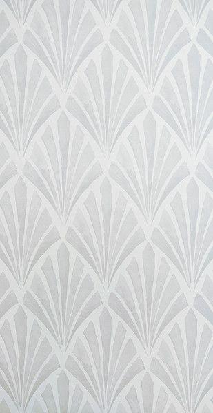 Deco fan wallpaper, for upstairs hallway..?