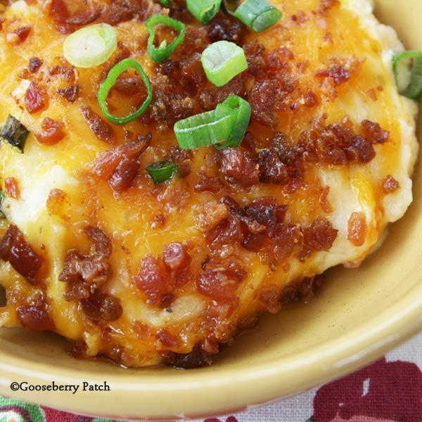 Gooseberry Patch Recipes: Twice Baked Potato Casserole from In the Kitchen with Family & Friends