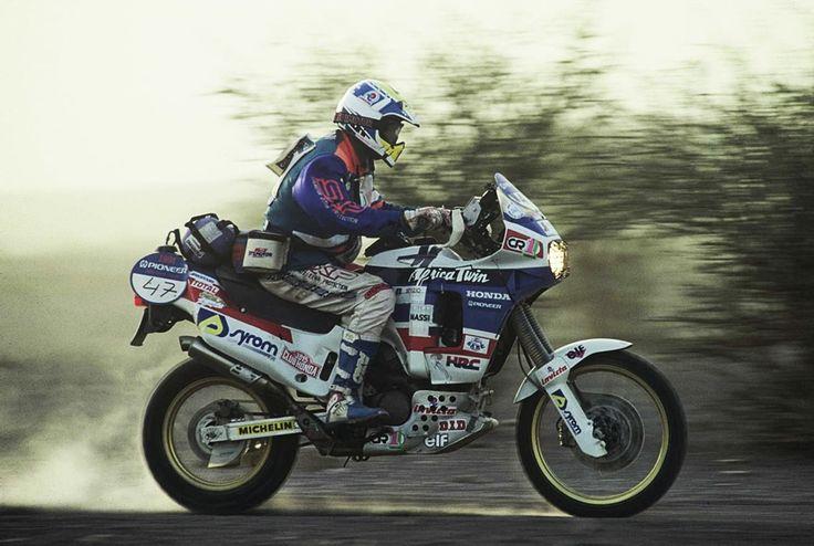 Paolo Paladini, Honda XRV650 Africa Twin, Dakar Rally 1991.