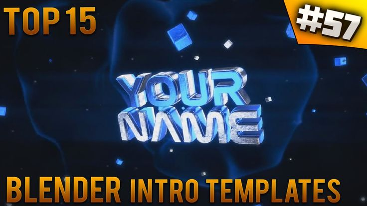 TOP 15 Blender Intro Templates 57 Free Download