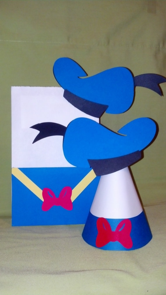 Donald Duck Party BagMickey Mouse Party Bags & by MagicalFantasia, $20.00