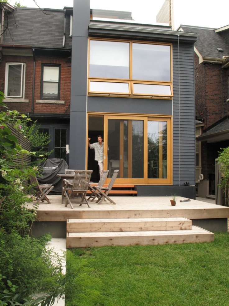 how to build platform stairs for deck