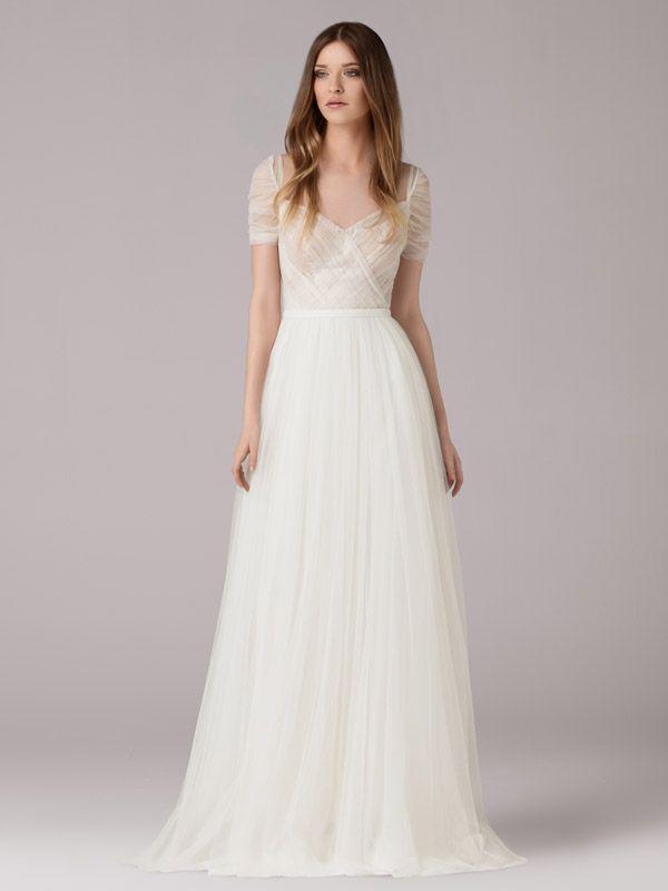 403 best kleider images by Carina on Pinterest   Bridal, Wedding ...