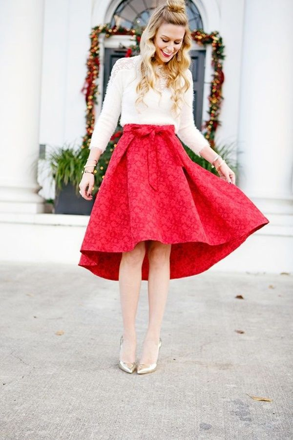 28d5369b3819 40 Unique Christmas Outfits for Teenage Girls that are Simply Wow ...