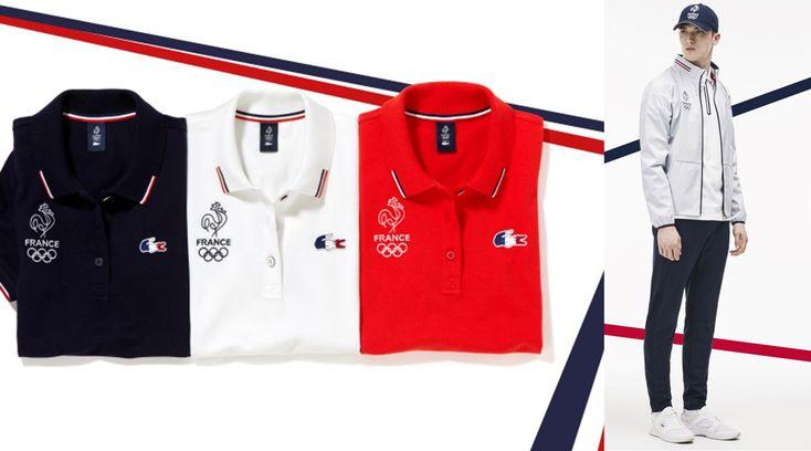 Deux Porte-Drapeaux aux couleurs de la France et de Lacoste aux JO de Rio 2016 #LeFashionPost #Webzine #WilliamArlotti #Rio2016 #Jeux #Fashion #Mode #Lifestyle #TeddyRiner #MichaelJeremiasz #Sport #France #Lacoste