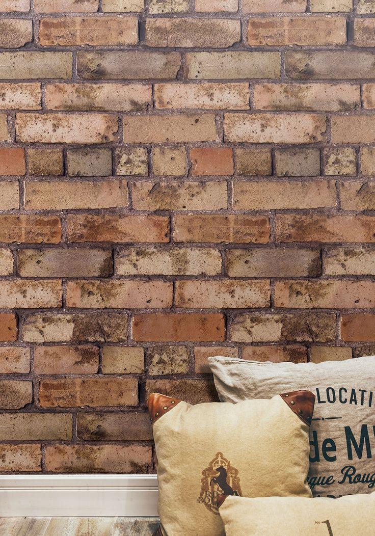 Old Brown Bricks Wallpaper from Kemra