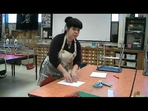 I made an instructional video for my art classes so that when they have finished carving their linoleum blocks, they could go ahead and start printing after ...
