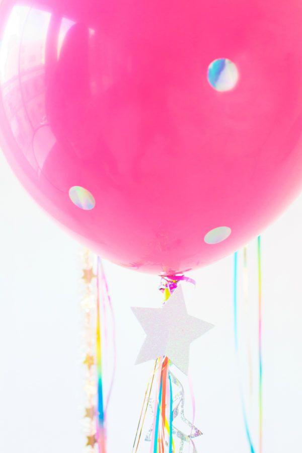 DIY Unicorn Balloons   studiodiy.com