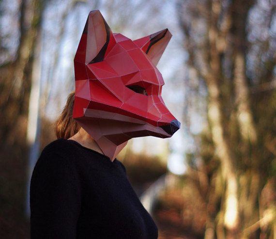 Máscara de zorro (descarga digital), máscara de carnaval Fuchs