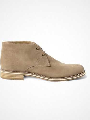 2013.03.04. Tod's No_Code Suede Desert Boots.
