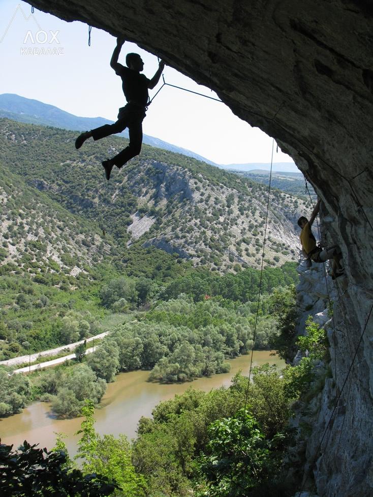 Sports Climbing, life 'under' the edge #Kavala #Greece