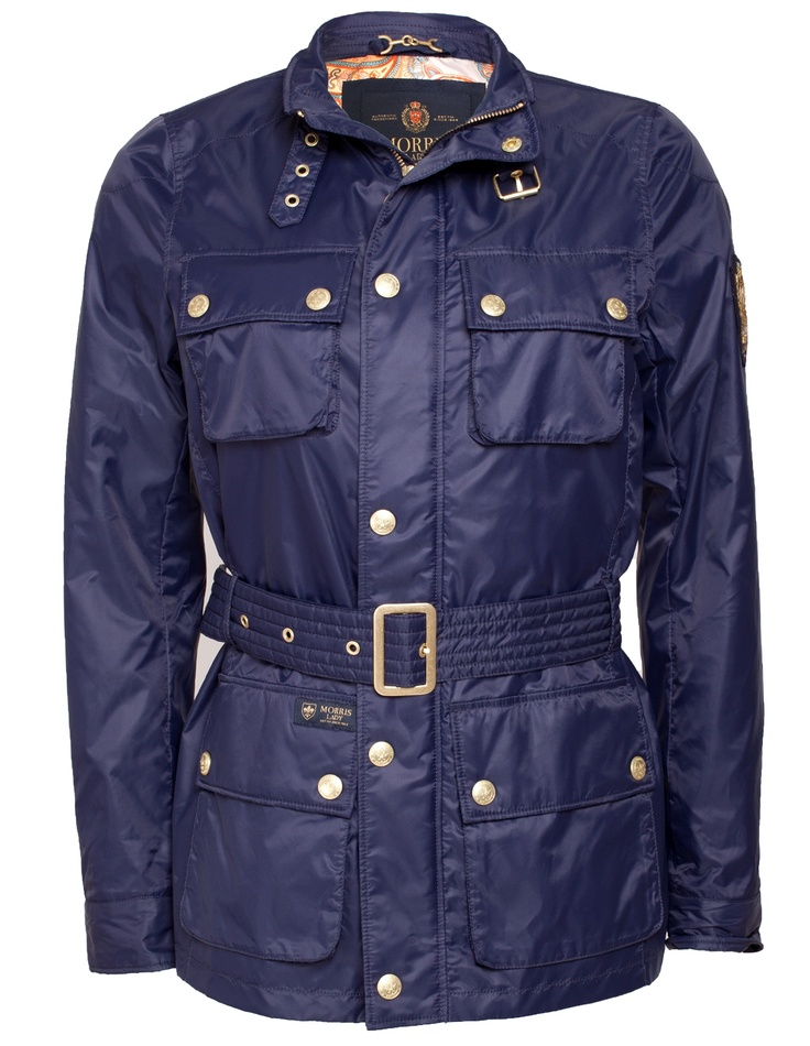 Morris Lady Hepburn Jacket Navy