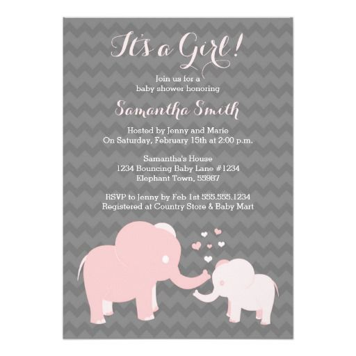 17 best images about chevron baby shower invitations on pinterest, Baby shower invitations
