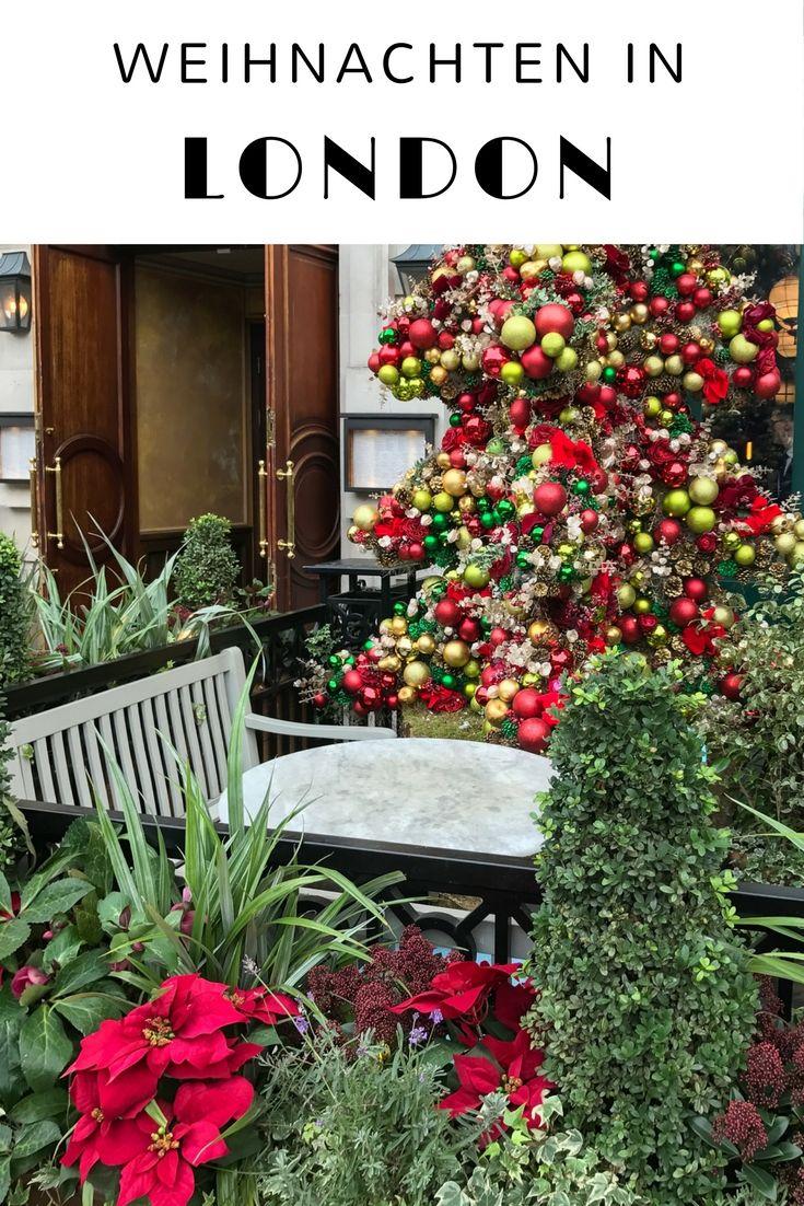 Vorweihnachtszeit in London - mit Weihnachtsmarkt, funkelnden Lichtern, Shopping und Schlittschuhfahren. Im Artikel findet ihr meine Tipps für Weihnachten in London - samt Zeitplan, Kosten und worauf ihr achten solltet. #London #Weihnachten #Vorweihnachtszeit #Advent #Weihnachtsmarkt