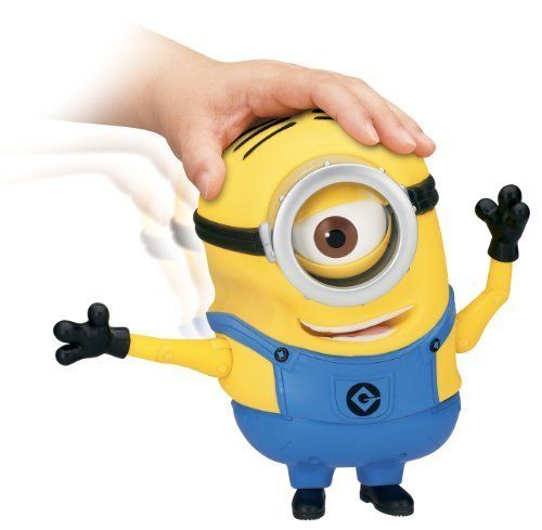 Game/Play Despicable Me 2 Minion Stuart Laughing Action Figure Kid/Child by Toys-n-Games @ niftywarehouse.com #NiftyWarehouse #DespicableMe #Movie #Minions #Movies #Minion #Animated #Kids