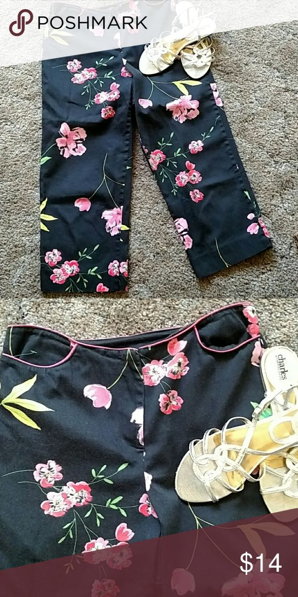 Carol Anderson vivid capris Cotton and spandex for relaxed fit Pants Capris