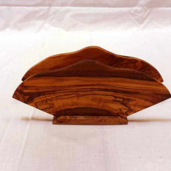 Handmade Wooden Napkin Holder - solivewood.com
