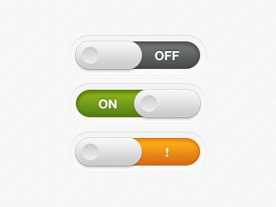 On/Off Buttons  by Yubeon Lee