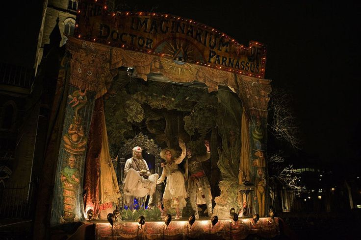 """the portable stage from the Terry Gilliam film """"The Imaginarium of Doctor Parnassus"""""""