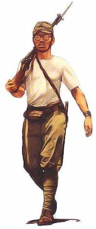 Soldat de 2ème classe, armée de terre impériale du Japon, 1941