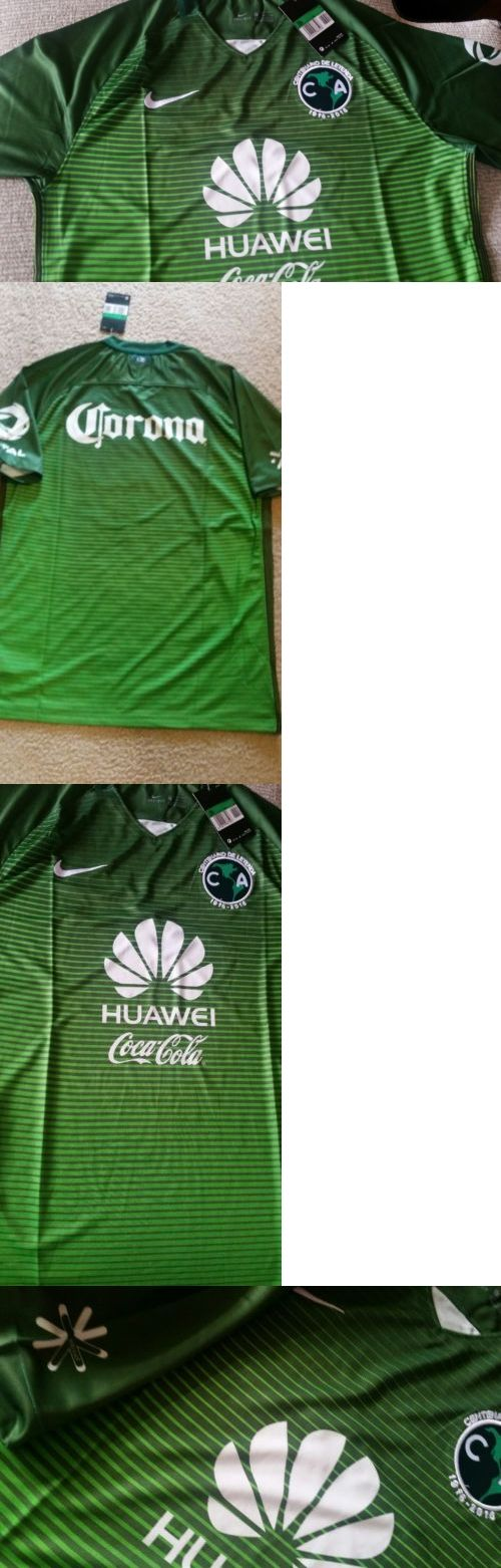 Men 123490: New 2017 Club America Aguilas Green Soccer Futbol Jersey Green Free Shipping!! -> BUY IT NOW ONLY: $33.99 on eBay!