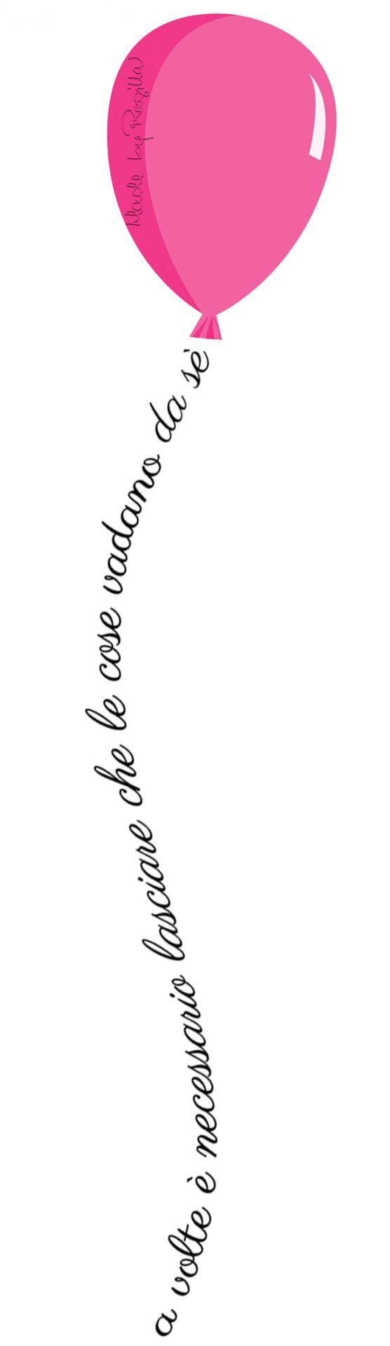 .. lasciarsi andare..