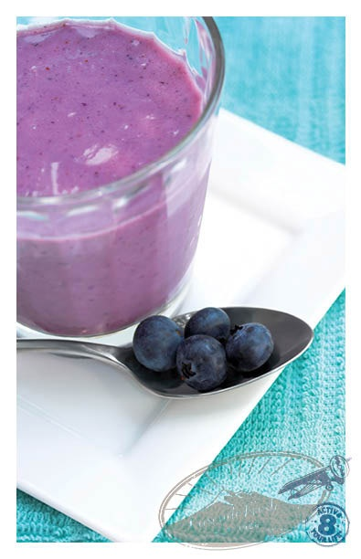 Chilled Blueberry Soup | Dips&Apps | Pinterest